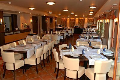 3* All'elegante ristorante dell'hotel Wellness in banca